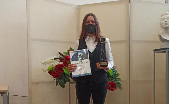 Agnieszka Łazińska - absolwentka roku 2021